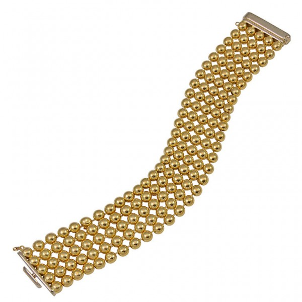 Beaded-Link-Wide-Gold-Bracelet-1