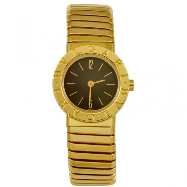 Bulgari-Ladys-Yellow-Gold-Flexible-Bangle-Watch-1