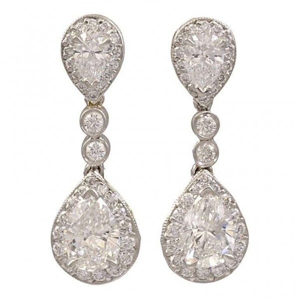 Diamond-and-Platinum-Drop-Earrings-1