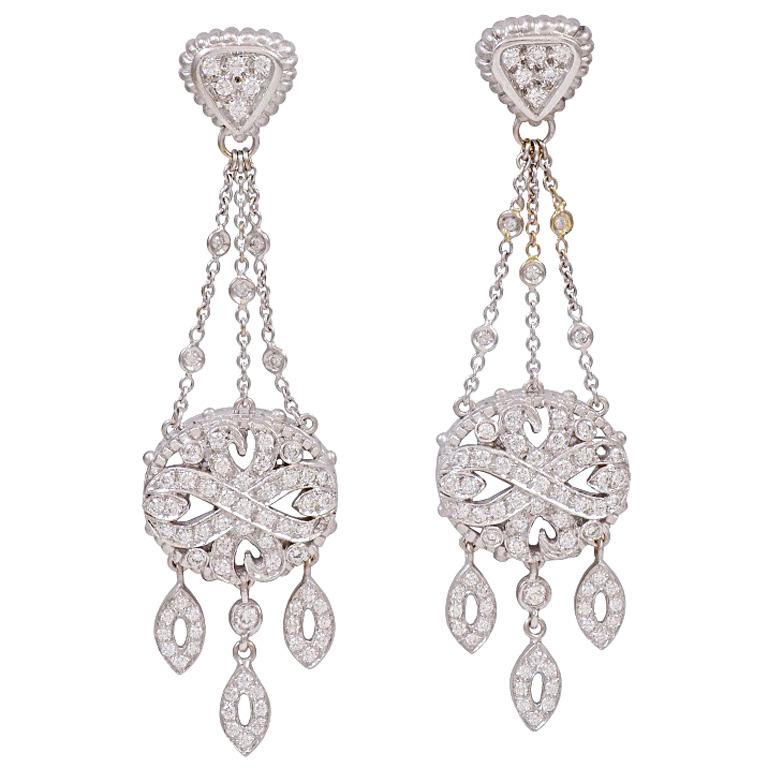 Doris panos diamond white gold chandelier earrings charles doris panos diamond white gold chandelier earrings doris panos diamond white gold chandelier earrings aloadofball Choice Image