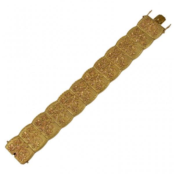 Engraved-Panel-Link-Bracelet-1