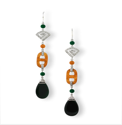 Multi-Color-jade-Drop-earrings-1