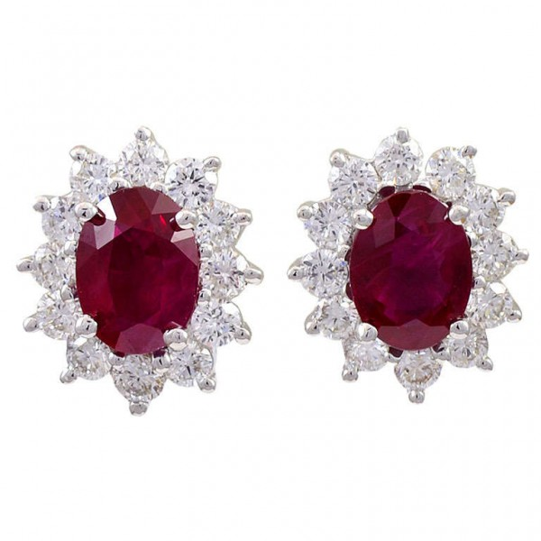 Natural-Oval-Ruby-and-Diamond-Earrings-1