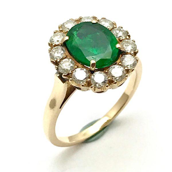 estate engagement ring