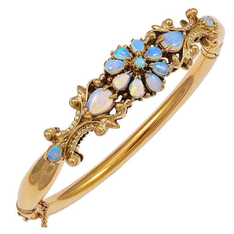 Jelly-Opal-Gold-Bangle-Bracelet-1