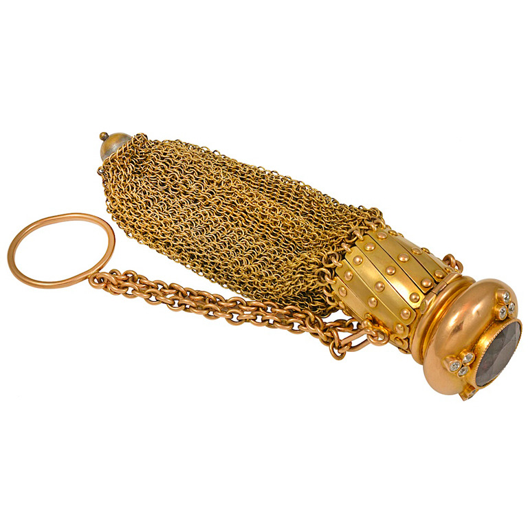Victorian-Garnet-Diamond-Gold-Coin-Purse-1