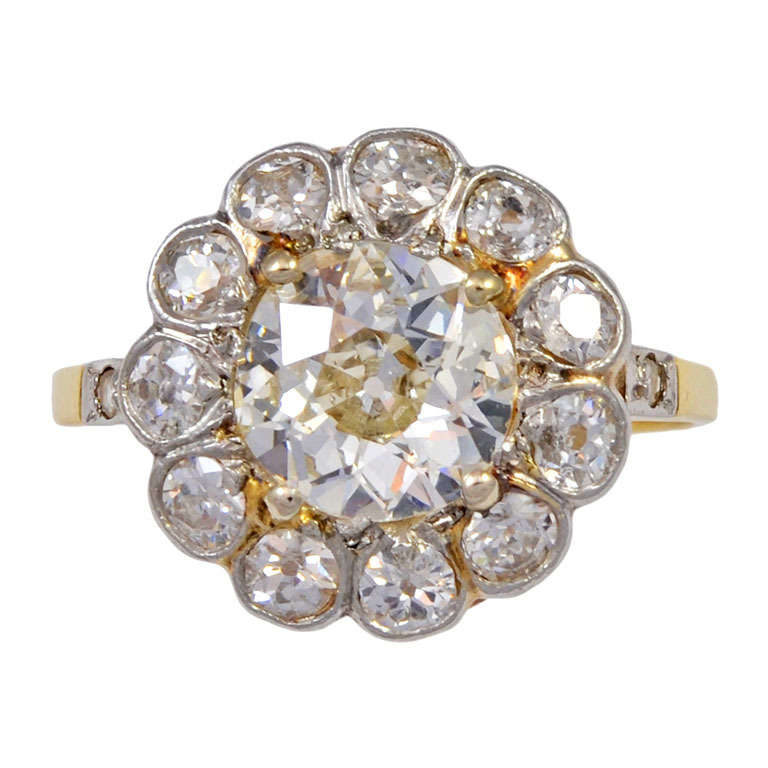 Victorian-Old-Mine-Cut-Dia-Ring-1