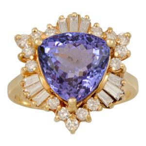antique engagement ring DC