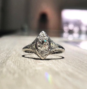 Custom Engagement Ring in DC