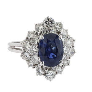 Gemstone Engagement Ring in DC